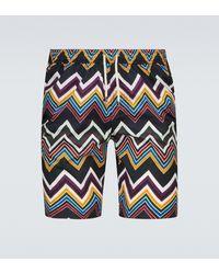 Missoni Short de bain imprimé Mare - Multicolore