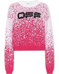 Off-White c/o Virgil Abloh Degrade Logo Sweater - Multicolor