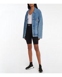 RTA Simon Biker Shorts - Black