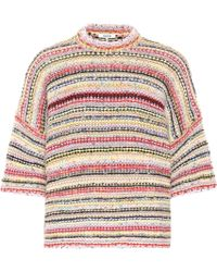Ganni Mixed Knit Sweater - Multicolor