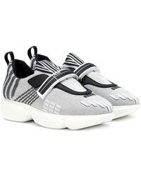Prada Sneaker für Damen - Mettallic