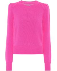 Étoile Isabel Marant Pullover Kleely mit Wollanteil - Pink