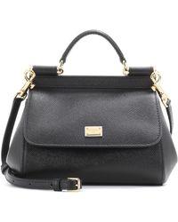 Dolce & Gabbana - Sicily Mini Leather Shoulder Bag - Lyst
