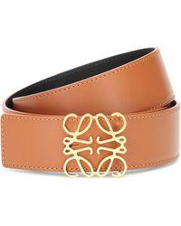 Loewe Reversible Leather Belt - Multicolor