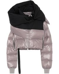 Unravel - Quilted Down Jacket - Lyst