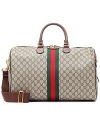 Gucci Borsa da viaggio Ophidia in tessuto e pelle - Multicolore