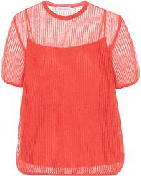 Mansur Gavriel Mohair-blend Sweater - Red