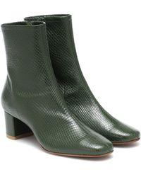 BY FAR - Ankle Boots Sofia aus Leder - Lyst