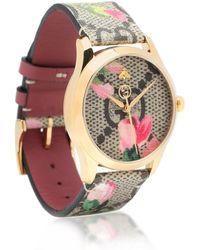 Gucci Uhr G-Timeless 38mm - Natur