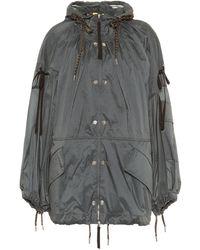 Moncler Genius 2 Moncler 1952 Delphi Raincoat - Blue