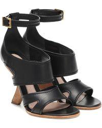 Alexander McQueen - No.13 Leather Sandals - Lyst