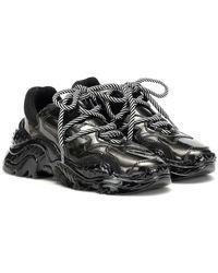 N°21 Sneakers Billy in vernice - Nero