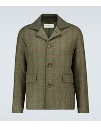 Éditions MR Trek Checked Jacket - Green