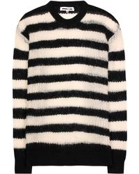 07767ebc656 Mcq Cable Knit Jumper in White - Lyst