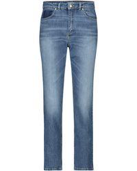 Dorothee Schumacher Jeans rectos Denim Love tiro alto - Azul