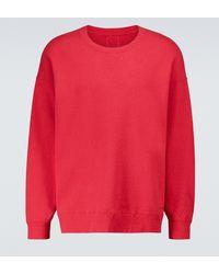 Visvim Sweatshirt Jumbo Numbering - Rot