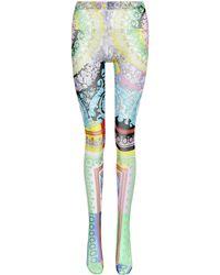Versace Printed Tights - Multicolour