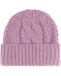 Acne Studios - Kilian Cable-knit Beanie - Lyst