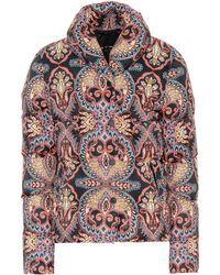 Etro - Paisley Puffer Jacket - Lyst
