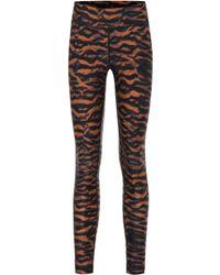 The Upside Tiger Yoga Printed leggings - Multicolour