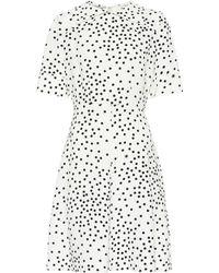 Stella McCartney Mini-robe à pois - Neutre