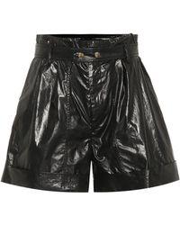 Isabel Marant Tweny Cotton Shorts - Black