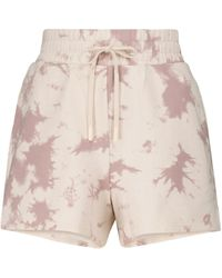 Varley Glade Tie-dye Jersey Shorts - Multicolour