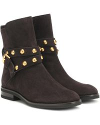 See By Chloé Neo Jines Suede Ankle Boots - Black