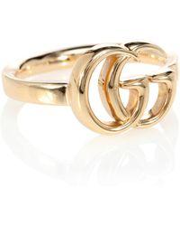 Gucci Ring GG Running aus 18kt Gold - Mettallic