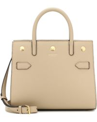 Burberry Small Title Tote - Natural