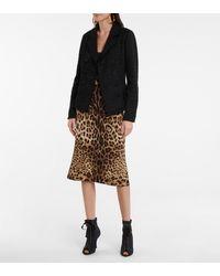 Dolce & Gabbana Botines peep-toe con cordones - Negro
