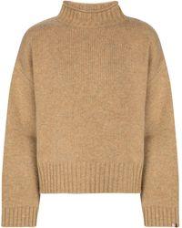 Extreme Cashmere N° 163 Ken Cashmere Sweater - Brown