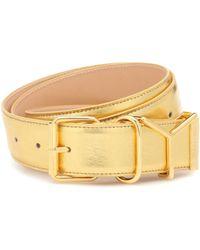 Y. Project Metallic Leather Belt