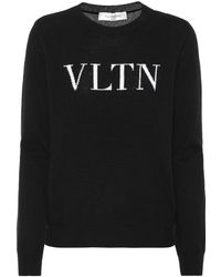 Valentino - Cashmere And Wool Sweater - Lyst