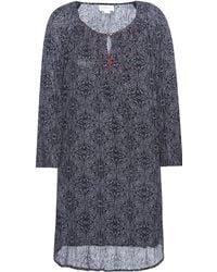 Velvet - Yani Printed Embroidered Dress - Lyst