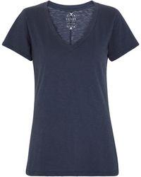 Velvet Camiseta Lilith de algodón - Azul