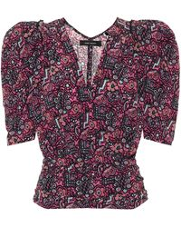 Isabel Marant Exclusive To Mytheresa – Rincky Stretch-silk Top - Pink