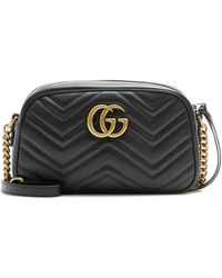 Gucci - Schultertasche GG Marmont Small - Lyst