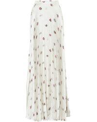 Gabriela Hearst Falda larga Blight de seda floral - Multicolor