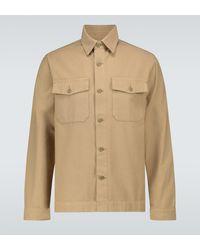 Officine Generale Camicia Stanley - Neutro