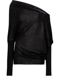 Tom Ford Cashmere And Silk Sweater - Black