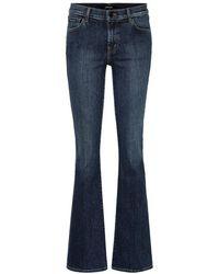 J Brand Jeans flared Sallie - Blu
