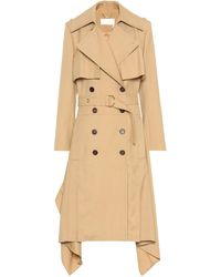 Chloé Wool Trench Coat - Multicolor