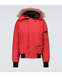 Canada Goose Bomber Chilliwack Rosso