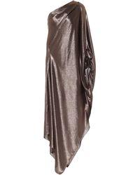 Roland Mouret - Exclusivo en Mytheresa – vestido drapeado Ritts en mezcla de seda - Lyst