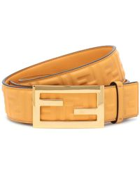 Fendi Cintura Baguette in pelle - Multicolore