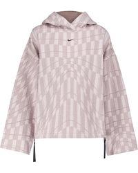 Nike Zipped Fleece Hoodie - Pink