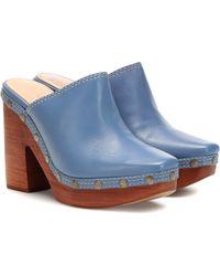 Jacquemus Clog Mule - Blue