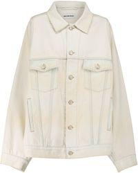 Balenciaga Veste en jean - Neutre
