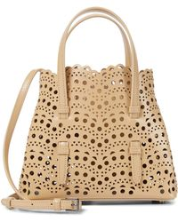 Alaïa Mina 20 Small Leather Tote - Multicolour